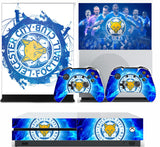 LEICESTER CITY XBOX ONE S (SLIM) *TEXTURED VINYL ! * PROTECTIVE SKIN DECAL WRAP