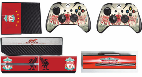 LIVERPOOL XBOX ONE*TEXTURED VINYL ! *PROTECTIVE SKIN DECAL WRAP