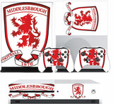 MIDDLESBROUGH 2 XBOX ONE S (SLIM) *TEXTURED VINYL ! * PROTECTIVE SKIN DECAL WRAP