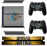 NEWCASTLE UNITED PS4 *TEXTURED VINYL ! * PROTECTIVE SKINS DECAL WRAP STICKERS