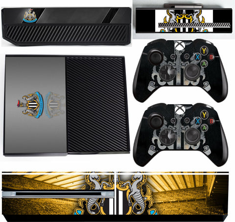 NEWCASTLE UNITED XBOX ONE*TEXTURED VINYL ! *PROTECTIVE SKIN DECAL WRAP