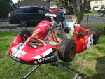 TOPKART/ZIPKART BAMBINO FERARRI FULL STICKER KIT