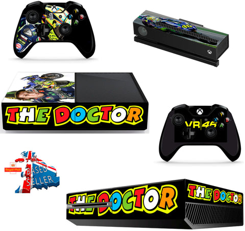 ROSSI XBOX ONE *TEXTURED VINYL ! *PROTECTIVE VINYL SKIN DECAL WRAP