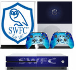 SHEFFIELD WEDNESDAY XBOX ONE S (SLIM) *TEXTURED VINYL ! * PROTECTIVE SKIN DECAL WRAP