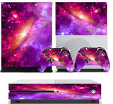 SPACE 6 XBOX ONE S (SLIM) *TEXTURED VINYL ! * PROTECTIVE SKIN DECAL WRAP