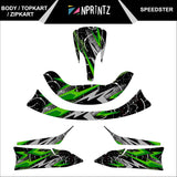 TOPKART/ZIPKART BAMBINO SPEEDSTER FULL STICKER KIT