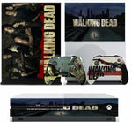 WALKING DEAD XBOX ONE S (SLIM) *TEXTURED VINYL ! * PROTECTIVE SKIN DECAL WRAP