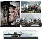 CALL OF DUTY WWII XBOX ONE S (SLIM) *TEXTURED VINYL ! * PROTECTIVE SKIN DECAL WRAP