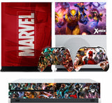 MARVEL 2 XBOX ONE S (SLIM) *TEXTURED VINYL ! * PROTECTIVE SKIN DECAL WRAP