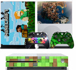 MINECRAFT V2 XBOX ONE S (SLIM) *TEXTURED VINYL ! * PROTECTIVE SKIN DECAL WRAP