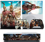 ASSASSIN'S CREED ODYSSEY XBOX ONE S (SLIM) *TEXTURED VINYL ! * PROTECTIVE SKIN DECAL WRAP