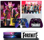 FORTNITE SEASON 5 XBOX ONE S (SLIM) *TEXTURED VINYL ! * PROTECTIVE SKIN DECAL WRAP