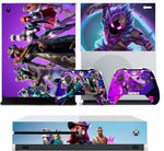FORTNITE SEASON 6 XBOX ONE S (SLIM) *TEXTURED VINYL ! * PROTECTIVE SKIN DECAL WRAP