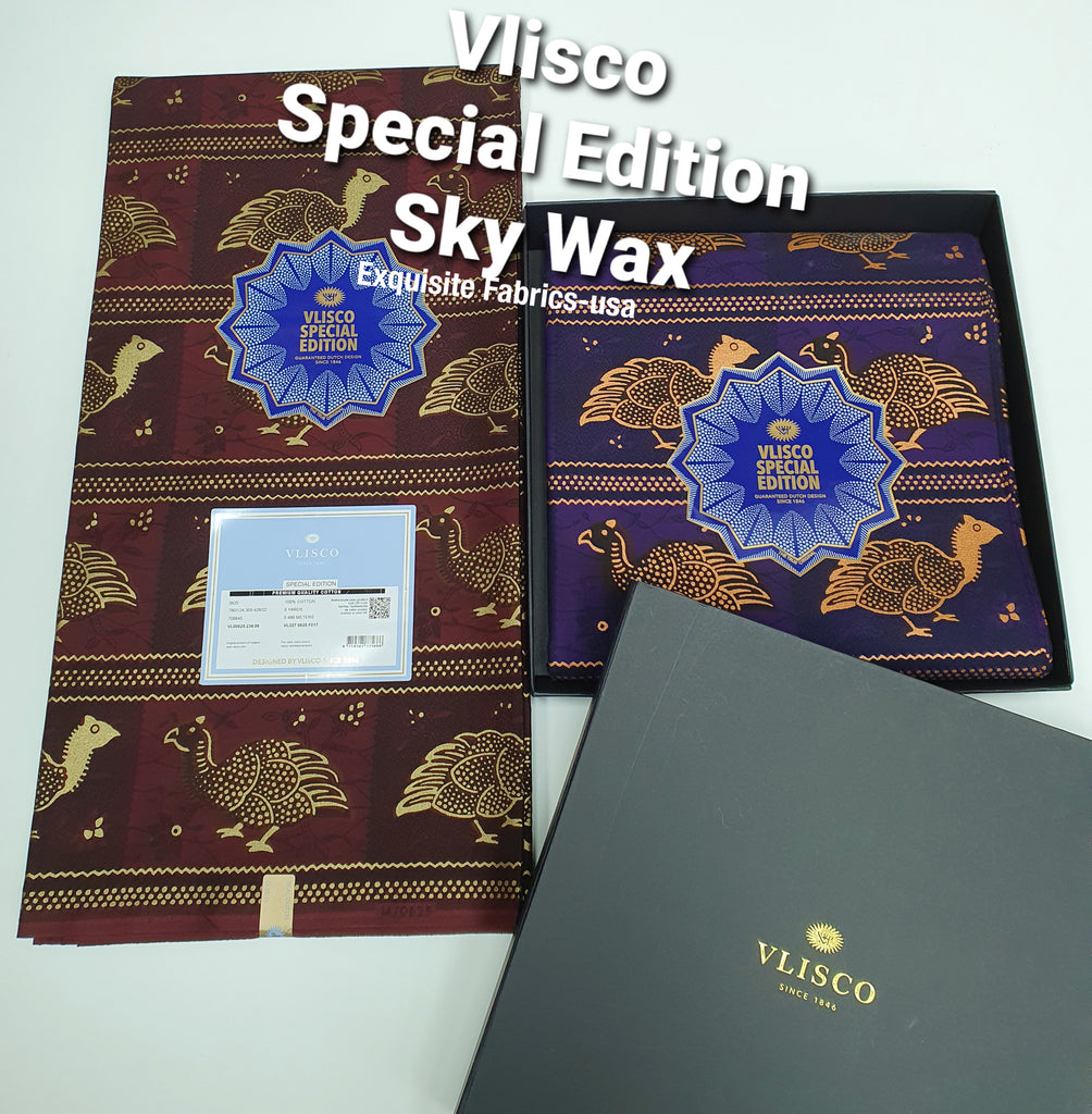 Limited Edition Vlisco Sky Wax✨