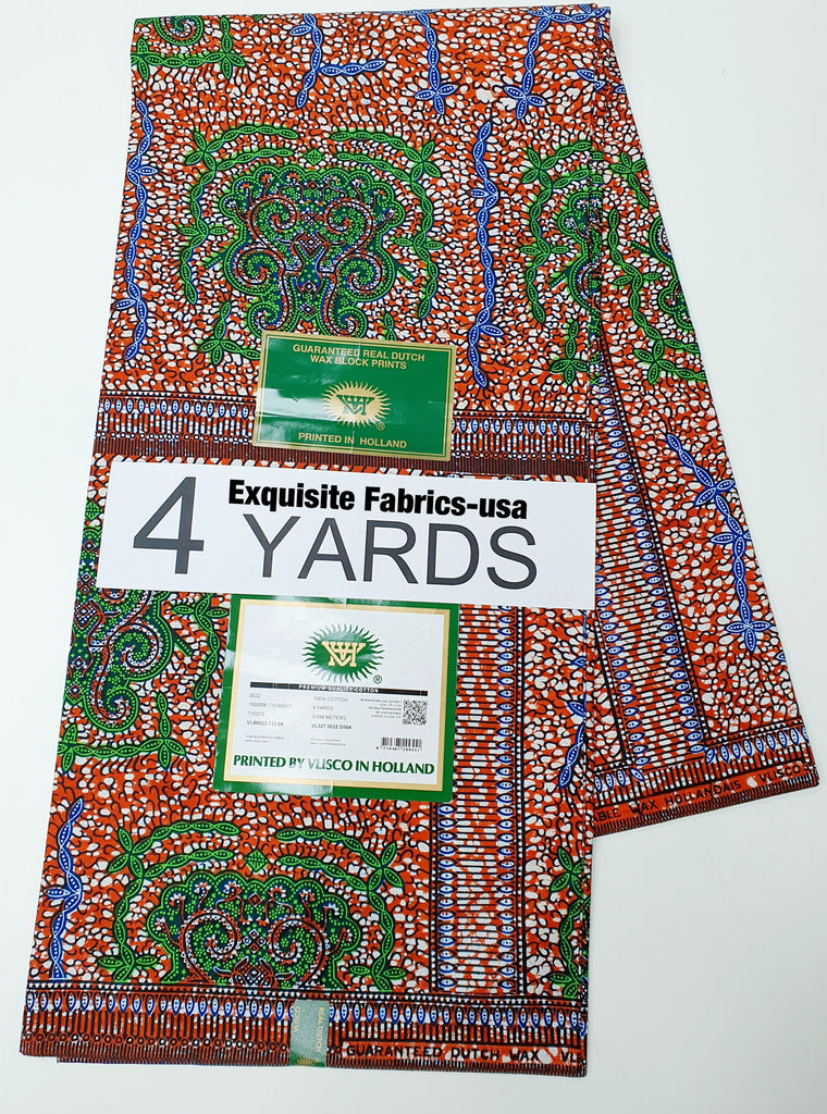 Holland Wax-4Yards