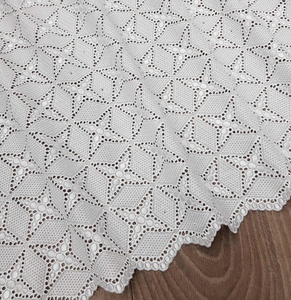 Swiss Lace Soft Premium Cotton