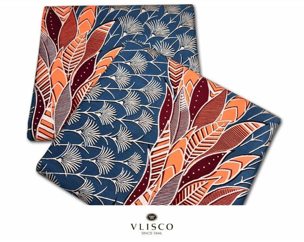 Embellished Vlisco Hollandais Wax Exclusive