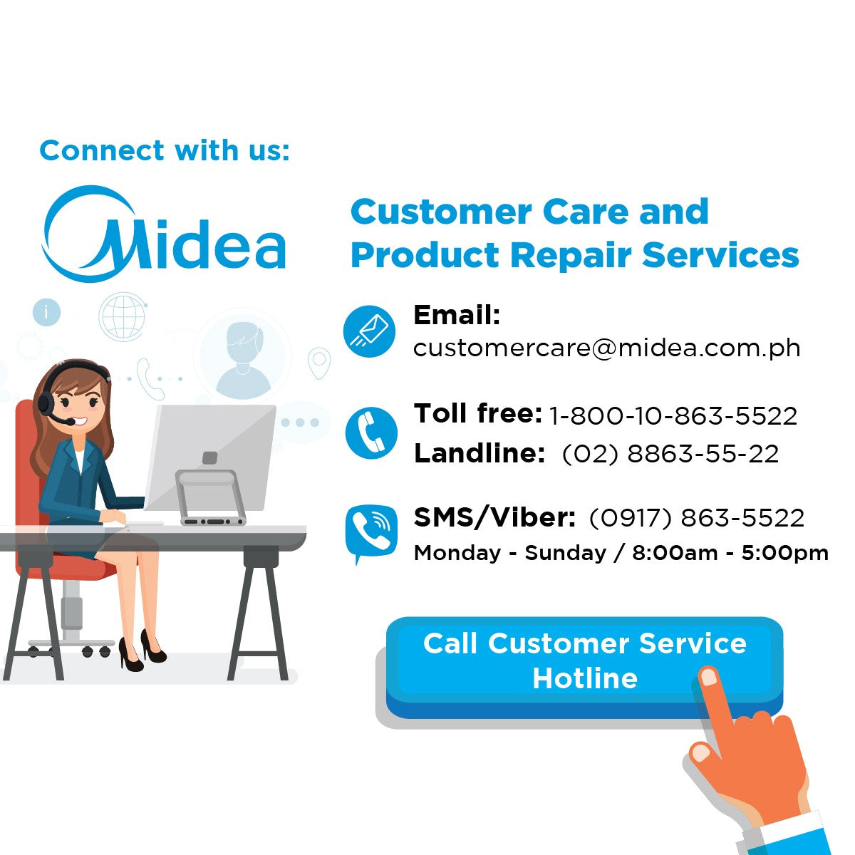 Midea Customer Service Center