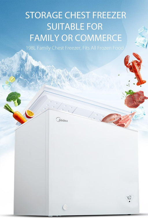 Open Box Unit Midea 5 Cu.Ft. Chest Freezer