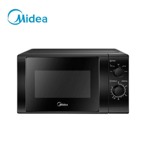 Open Box Unit Midea 20L Black Mechanical Microwave Oven