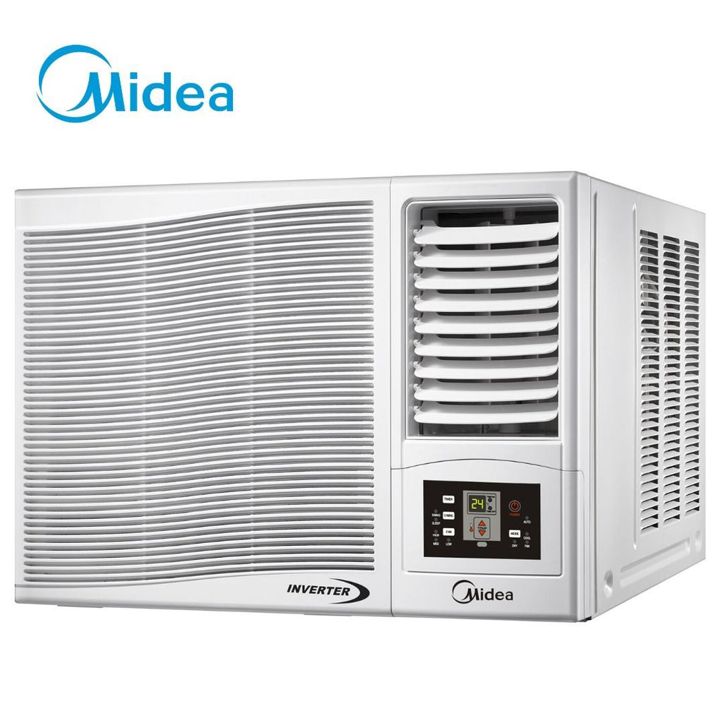 Open Box Unit Midea 1.5 HP Window Type Inverter Aircon - Remote Controlled