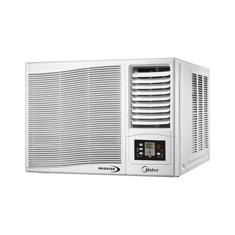 Midea 1.0 HP Window Type Inverter Aircon - Remote Controlled