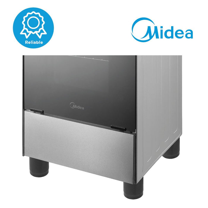 Open Box Unit Midea 50cm Stainless Steel Gas Range (4 Gas Burners)