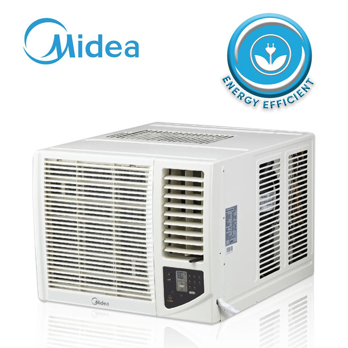 Midea 1.0 HP Window Type Non Inverter Aircon - Remote Controlled