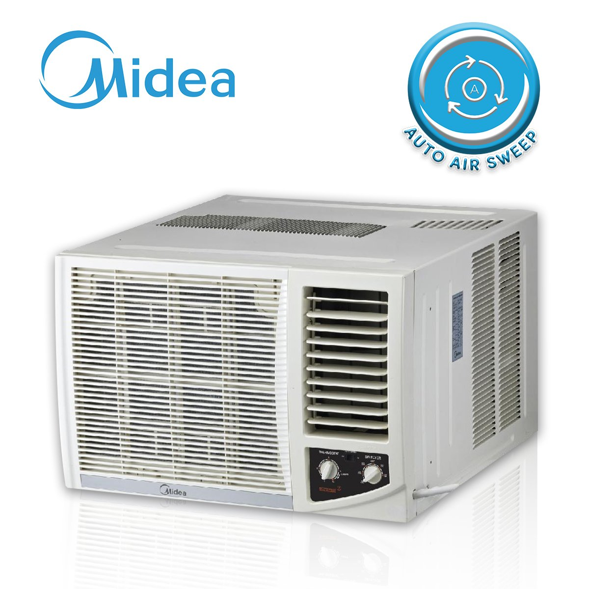 Midea 1.0 HP Window Type Non Inverter Aircon - Manual
