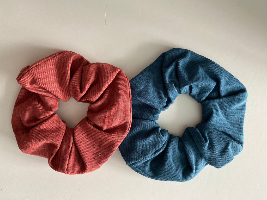 Scrunchies set | Petrol en Roest