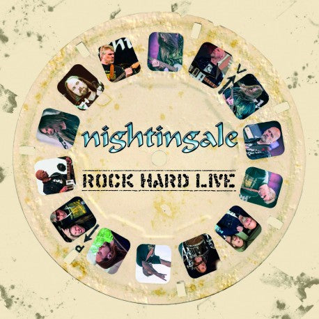 NIGHTINGALE. Rock Hard Live. LP Gatefold (Ultraclear)