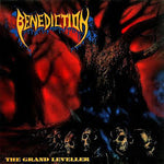 BENEDICTION. The Grand Leveller LP (Red/Aqua Blue)