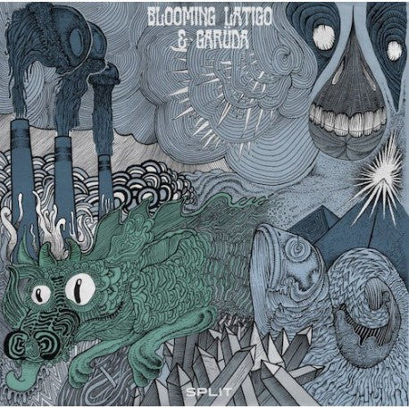 BLOOMING LATIGO & GARUDA. 12 Split EP""