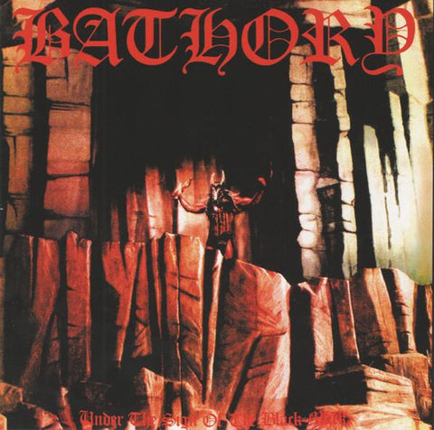 BATHORY. Under The Sign Of The Black Mark. LP