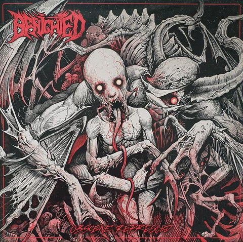 BENIGHTED. Obscene Repressed. LP Gatefold Coloured