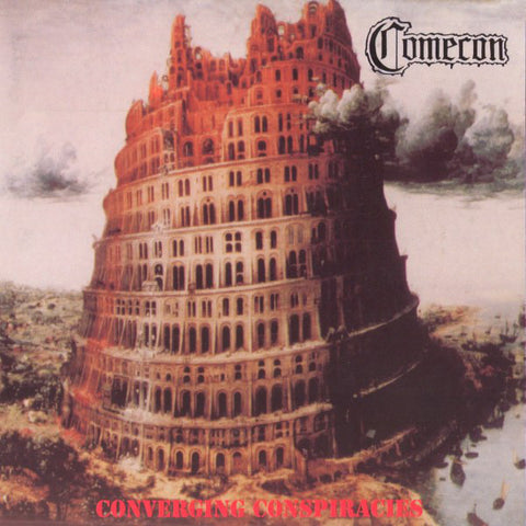 COMECON. Converging Conspiracies LP (Orange)