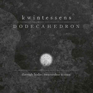 DODECAHEDRON. Kwintessens CD Dig