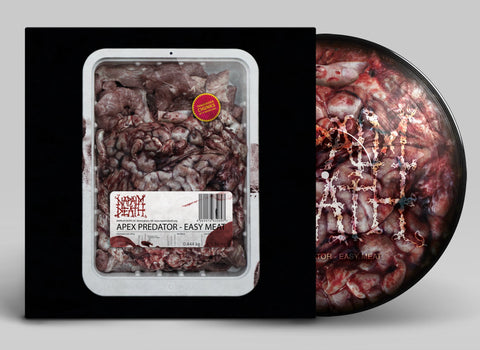 NAPALM DEATH. Apex Predator - Easy Meat LP Picture Disc