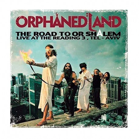 ORPHANED LAND. The Road To OR-Shalem 2LP