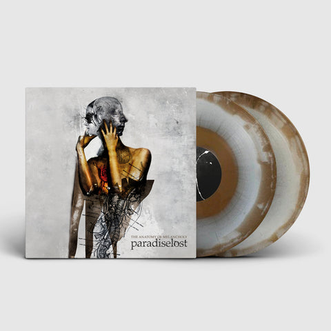 PARADISE LOST. The Anatomy of Melancholy 2LP (Swirl Gold/White) - PRE-ORDER - SHOP EXCLUSIVE!!