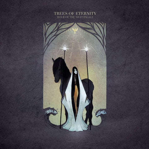 TREES OF ETERNITY. Hour of the Nightingale 2LP (gold)
