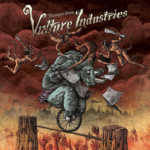 VULTURE INDUSTRIES. Stranger Times CD Dig