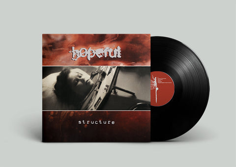 HOPEFUL. Structure LP (Black) - BUNDLE