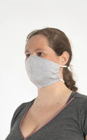 ADJUSTABLE MASK ORGANIC COTTON