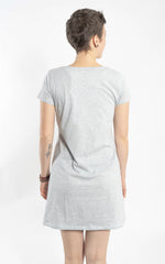 ZERO WASTE T-SHIRT DRESS (EXTRA LENGHT)