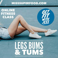 LEGS, BUMS & TUMS | 40 MIN ONLINE GROUP WORKOUT