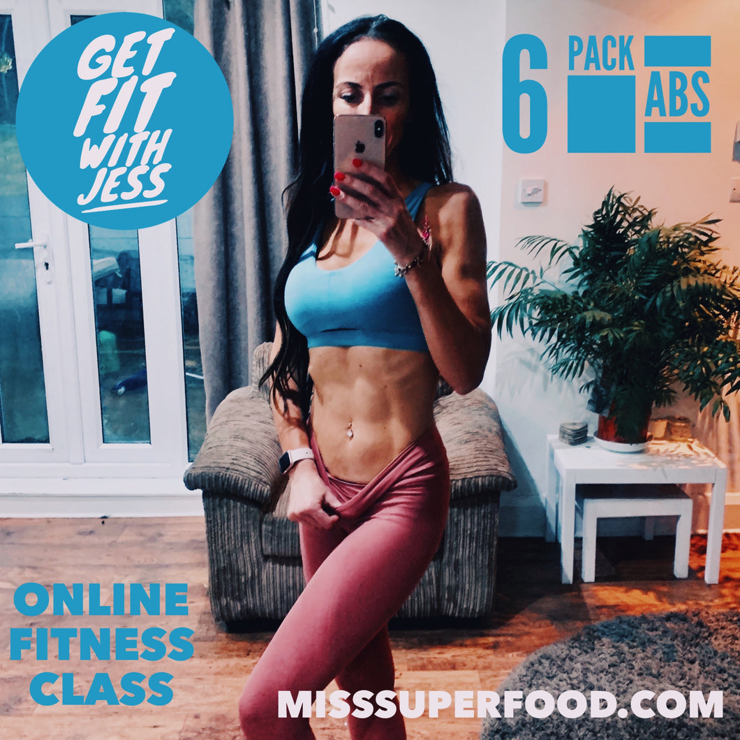 6 PACK ABS | 40 MIN ONLINE GROUP WORKOUT