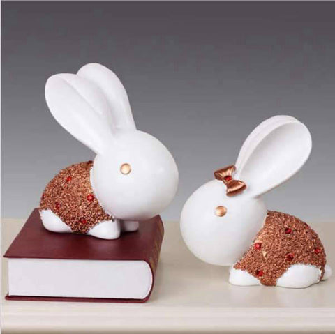 Tirelire Lapin En Sculpture