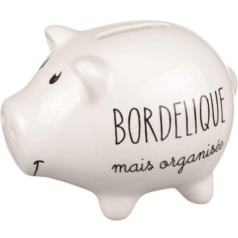 Tirelire Cochon Bordélique