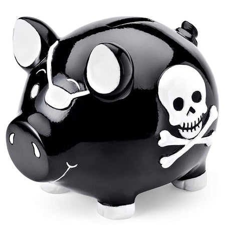 Tirelire Cochon Pirate